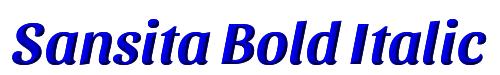 Sansita Bold Italic
