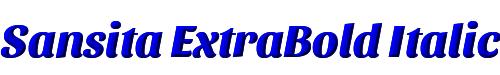Sansita ExtraBold Italic