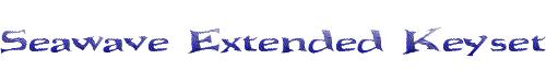 Seawave Extended Keyset