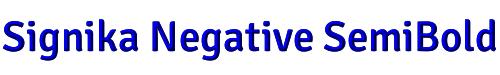 Signika Negative SemiBold