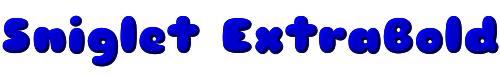 Sniglet ExtraBold