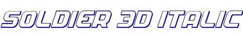 Soldier 3D Italic