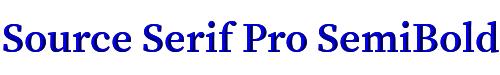 Source Serif Pro SemiBold