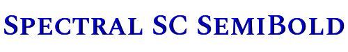 Spectral SC SemiBold