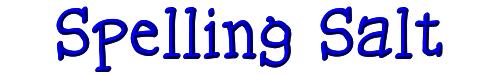 Spelling Salt