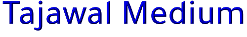 Tajawal Medium