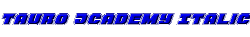 Tauro Academy Italic