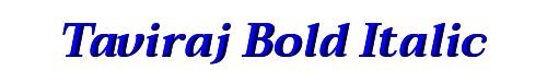 Taviraj Bold Italic