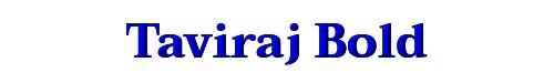 Taviraj Bold