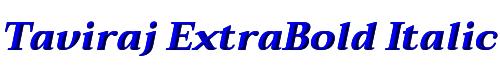 Taviraj ExtraBold Italic