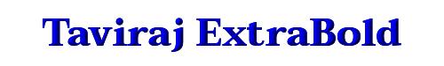 Taviraj ExtraBold