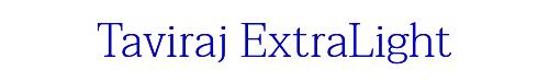 Taviraj ExtraLight
