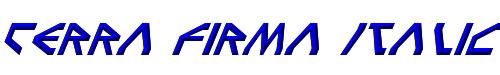 Terra Firma Italic