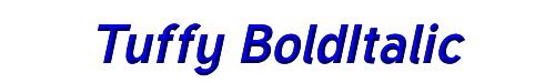 Tuffy BoldItalic