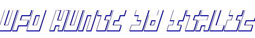 UFO Hunte 3D Italic