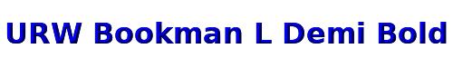 URW Bookman L Demi Bold