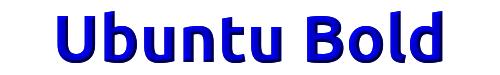 Ubuntu Bold