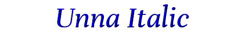Unna Italic