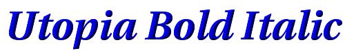Utopia Bold Italic