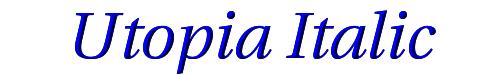 Utopia Italic