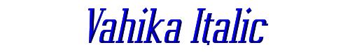 Vahika Italic