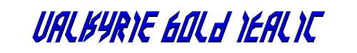 Valkyrie Bold Italic