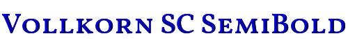 Vollkorn SC SemiBold