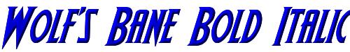 Wolf's Bane Bold Italic