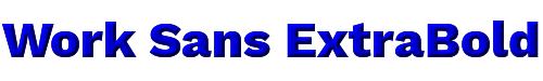 Work Sans ExtraBold