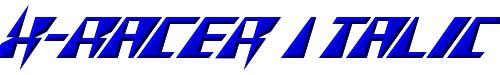 X-Racer Italic
