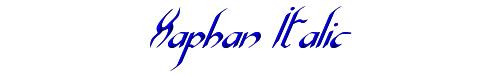 Xaphan Italic