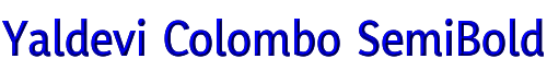 Yaldevi Colombo SemiBold