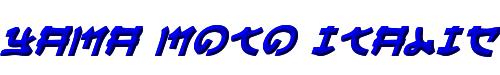 Yama Moto Italic