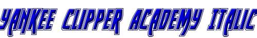 Yankee Clipper Academy Italic
