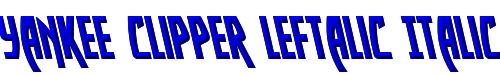 Yankee Clipper Leftalic Italic