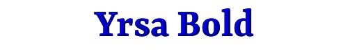 Yrsa Bold