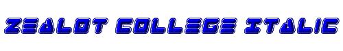 Zealot College Italic