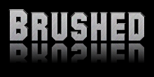 brushed logo