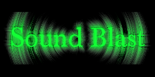 sound blast logo