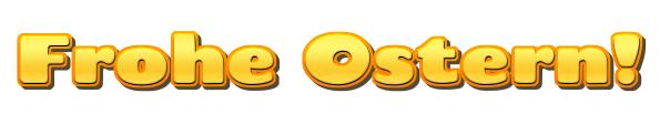 Ostern Gold-